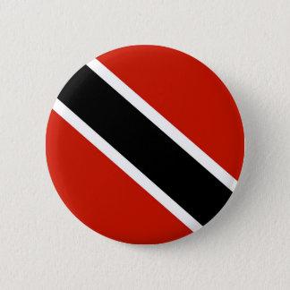 Badge Rond 5 Cm symbole de drapeau de pays du Trinidad Tobago