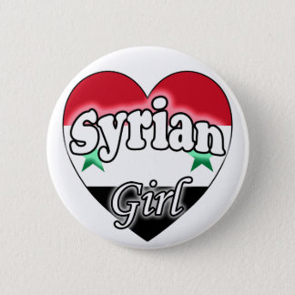 Badge Rond 5 Cm Syrian Girl