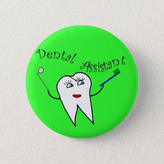 Badge Rond 5 Cm T-shirts et cadeaux d'assistant dentaire
