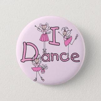 Badge Rond 5 Cm T-shirts et cadeaux de danse de la ballerine I