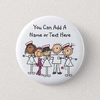 Badge Rond 5 Cm T-shirts et cadeaux de semaine d'infirmières
