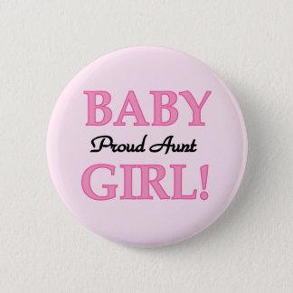 Badge Rond 5 Cm T-shirts et cadeaux fiers de tante bébé