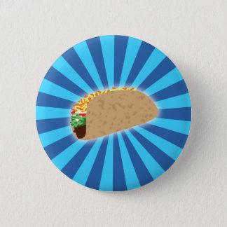 Badge Rond 5 Cm Taco en hausse
