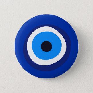 Badge Rond 5 Cm talisman arabe turc grec de symbole d'oeil mauvais
