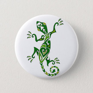 Badge Rond 5 Cm Tatouage de lézard