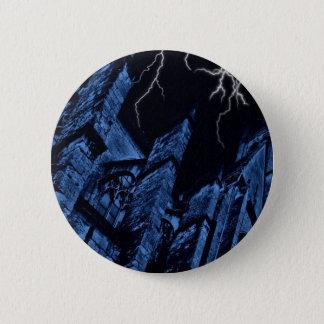 Badge Rond 5 Cm Tempête foncée gothique