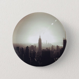 Badge Rond 5 Cm The Empire State Building, NYC