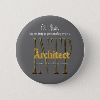 Badge Rond 5 Cm theArchitect d'INTP