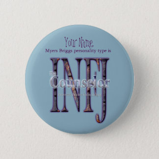 Badge Rond 5 Cm theCounselor d'INFJ