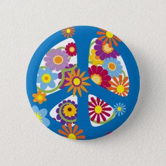 Badge Rond 5 Cm TJP flower power