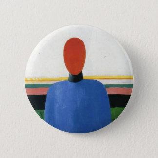 Badge Rond 5 Cm Torse femelle par Kazimir Malevich