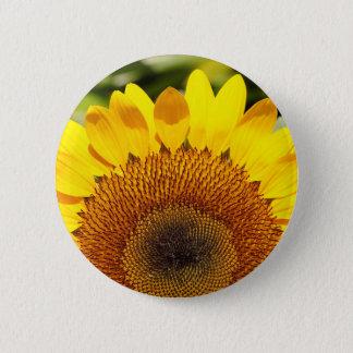 Badge Rond 5 Cm Tournesol