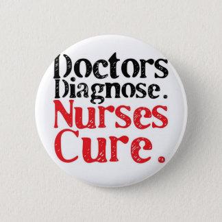 Badge Rond 5 Cm Traitement d'infirmières