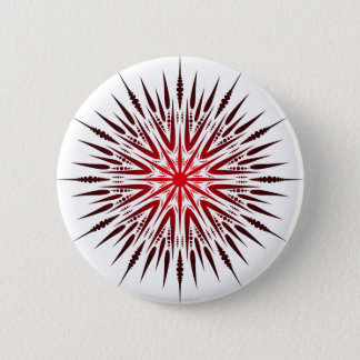 Badge Rond 5 Cm Transitoire de mandala