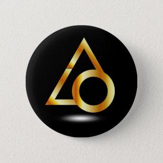 Badge Rond 5 Cm triangle et anneau
