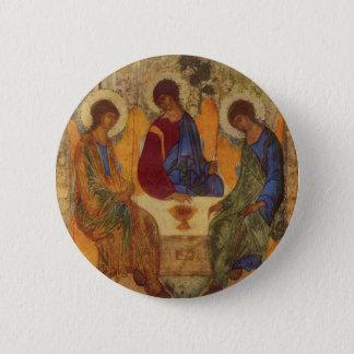 Badge Rond 5 Cm Trinité de Rublev au Tableau