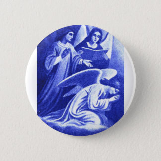 Badge Rond 5 Cm Trois anges