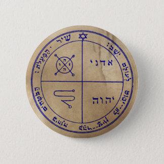 Badge Rond 5 Cm Troisième pentagramme de Jupiter