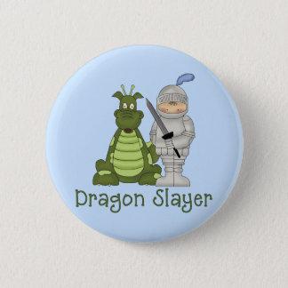Badge Rond 5 Cm Tueur de dragon