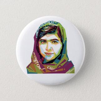 Badge Rond 5 Cm Un bouton rond de fille