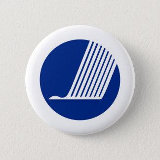 Badge Rond 5 Cm Union de pays de la Scandinavie de drapeau de