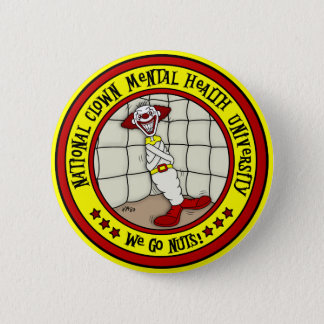Badge Rond 5 Cm Université nationale de santé mentale de clown