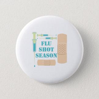 Badge Rond 5 Cm Vaccin contre la grippe