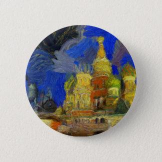 Badge Rond 5 Cm Van Gogh Moscou