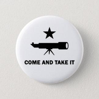 """Badge Rond 5 Cm """"Venez le prendre"""" pour des scientifiques"""