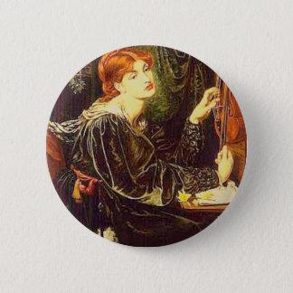 Badge Rond 5 Cm Veronica Veronese, beaux-arts