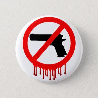 Badge Rond 5 Cm veuillez ne pas utiliser les armes à feu