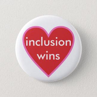 Badge Rond 5 Cm victoires d'inclusion