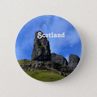 Badge Rond 5 Cm Vieil homme de Storr sur l'île de Skye