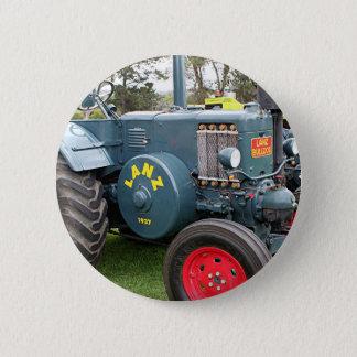 Badge Rond 5 Cm Vieilles machines agricoles vintages de tracteur