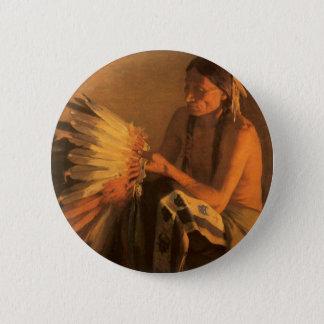 Badge Rond 5 Cm Vieux capot de guerre par dièse de Joseph Henry