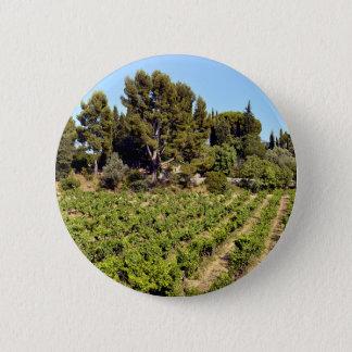 Badge Rond 5 Cm Vignoble de Le Castellet In France