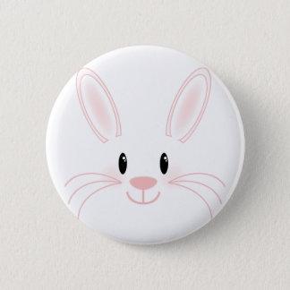 Badge Rond 5 Cm Visage de lapin