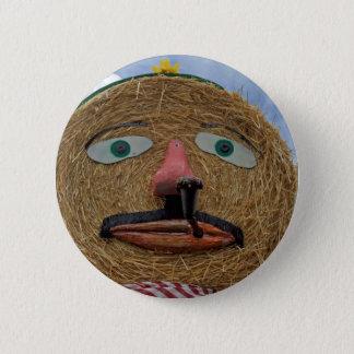 Badge Rond 5 Cm visage de thanksgiving