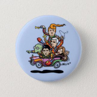 Badge Rond 5 Cm Voiture '16 de clown de GOP