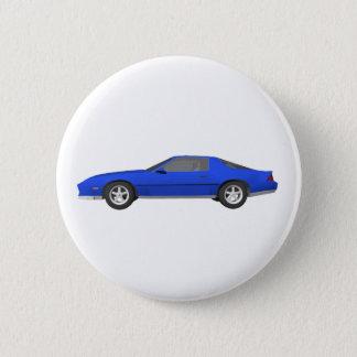 Badge Rond 5 Cm voiture de sport de Camaro des années 80 : modèle