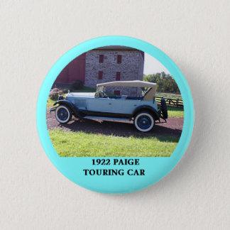 Badge Rond 5 Cm Voiture de tourisme 1922 de Paige