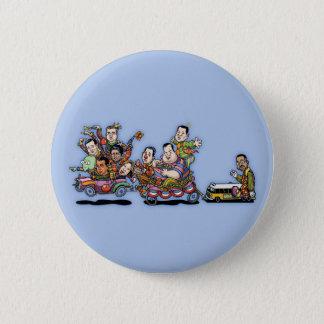Badge Rond 5 Cm Voiture May'15 II de clown