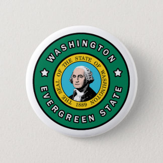 Badge Rond 5 Cm Washington