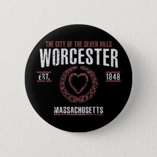 Badge Rond 5 Cm Worcester