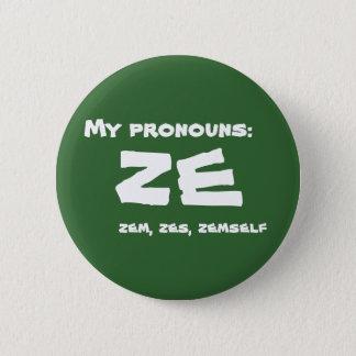 Badge Rond 5 Cm Ze ou pronom fait sur commande