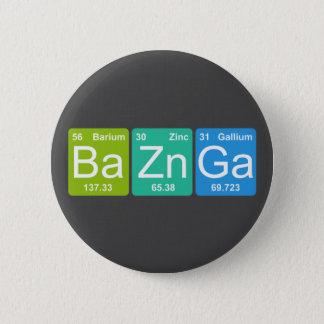 Badge Rond 5 Cm Zn GA de Ba ! Bouton d'éléments de Tableau