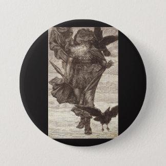Badge Rond 7,6 Cm 1871 Odin, Dieu des norses de la guerre