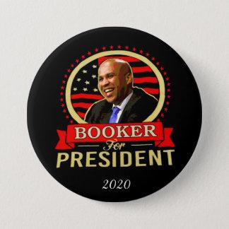 Badge Rond 7,6 Cm Agent de réservations de Cory pour le président