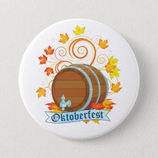 Badge Rond 7,6 Cm Bouton de baril d'Oktoberfest
