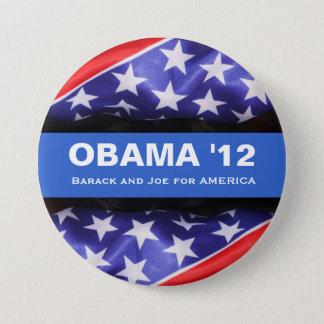 Badge Rond 7,6 Cm Bouton de campagne d'Obama 2012